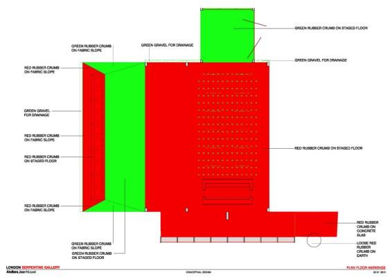 Plan Floor Markings
