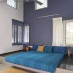 Bedroom (Image Courtesy LIJO RENY architects)