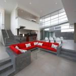 Living hall (Images Courtesy Juan Solano, CHOlon Photography)
