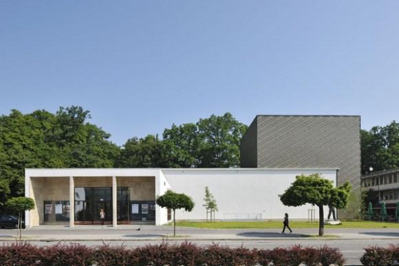 Exterior View (Image Courtesy Miran Kambič)