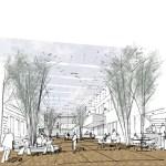 Sketch of gallery
