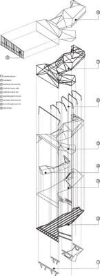 Axonometric (Images Courtesy Rojkind arquitectos)