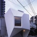 Exterior View (Images Courtesy Makoto Yoshida)