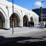 Facade Raampoortstraat after the renovation, new facade (Images Courtesy Maarten Laupman)