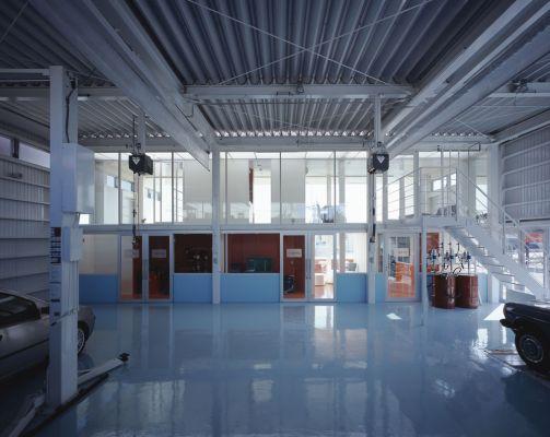 Garage (Image Courtesy K.Torimura)