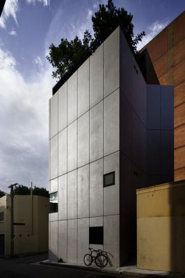 Exterior View (Images Courtesy Trevor Mein)