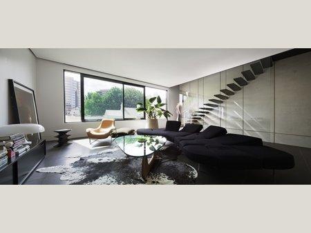 Living room (Images Courtesy Trevor Mein)