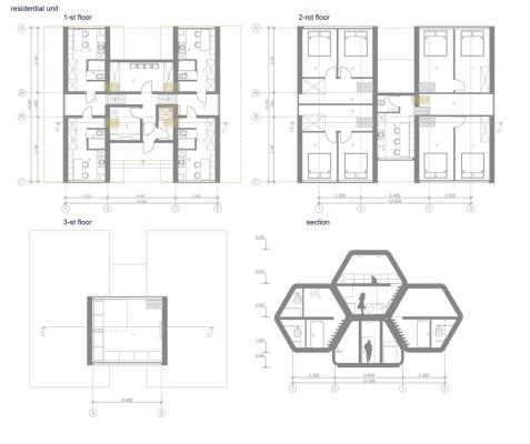 Residential unit plans