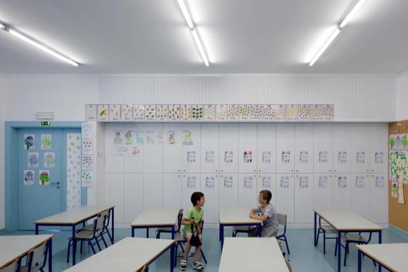 Classroom (Images Courtesy FG+SG   Fernando Guerra)