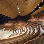 Interior View of Soka Performing Arts Center