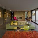 Living hall (Images Courtesy Fernando Guerra)