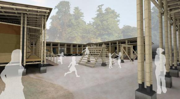 Bamboo School for Burmese Refugees