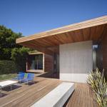 Garden deck area