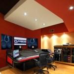 Thompson Studios - Control Room A - Front - Vertical