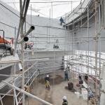 Construction work (Images Courtesy Shin Kyung-sub)