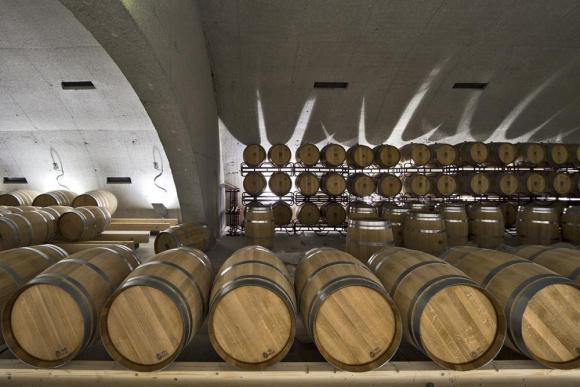 Cellar barrels (Image Courtesy Alberto Plácido 2010)