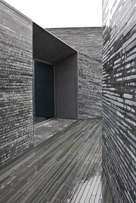 Reception entrance perspective (Image Courtesy Alberto Plácido 2010)