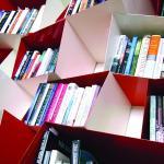 View of bookshelf