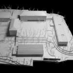 General view. Design study model (Images Courtesy Laura Castro Caldas & Paulo Cintra)
