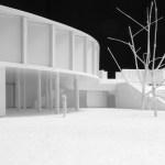 Design study model (Images Courtesy Laura Castro Caldas & Paulo Cintra)