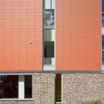 Close-up façade detailing (Images Courtesy Scagliolabrakkee)