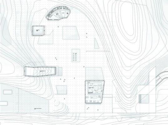 Plan landscape level / galleries