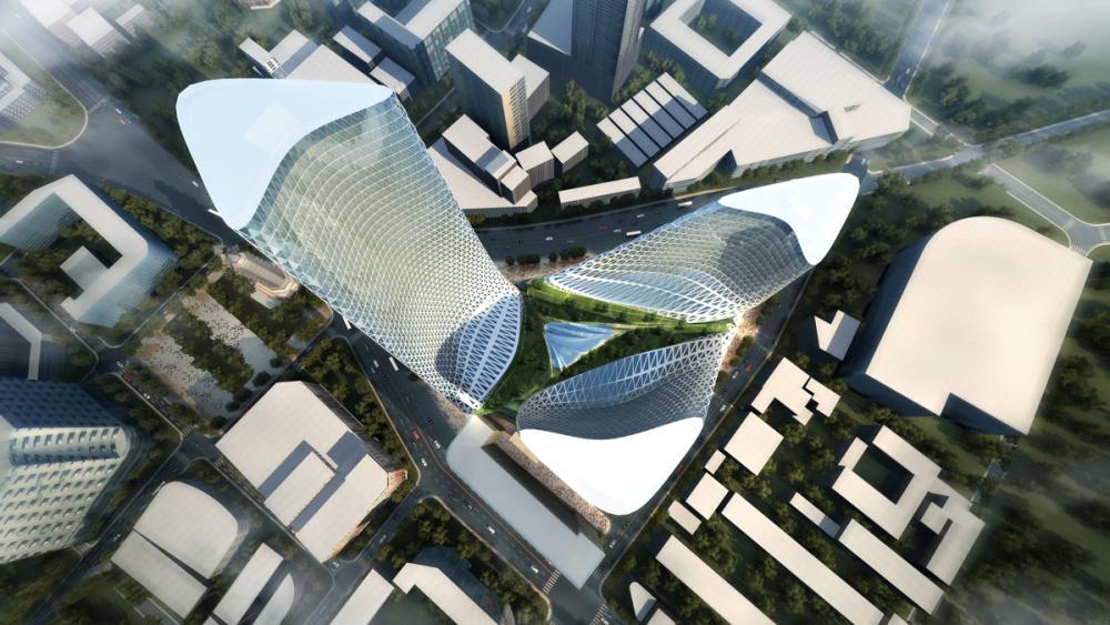 Zhengzhou Mixed Use Development In China By Trahan Architects