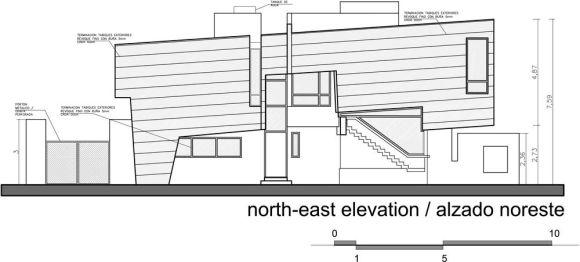 South-east Elevaton