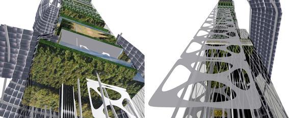15.277 solar panels tower