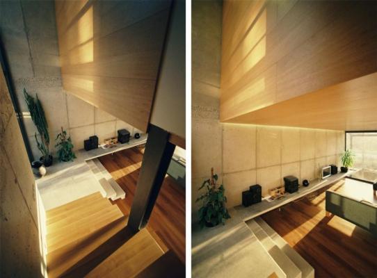 Wooden facing