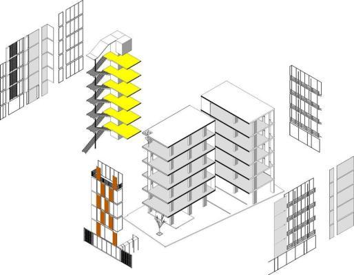 Building Axonometric