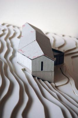 Twisted Cabin-Model (1) : Image Courtesy © JVA
