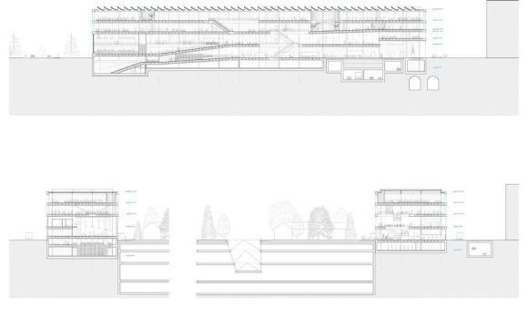 CAD Section: Image Courtesy Kubota&Bachmann Architects+Martinez