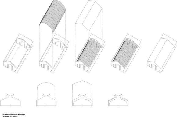 Axonometric View : Image Courtesy Ensamble Studio