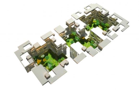 Model : Image Courtesy Henning Larsen Architects