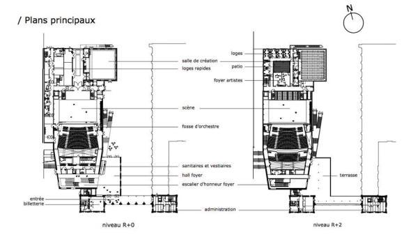 Plan : Image Courtesy K-Architecture