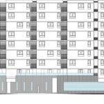 South Elevation : Image Courtesy Studio za arhitekturu (SZA)
