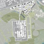 siteplan : Image Courtesy C.F. Møller