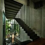 Recycled Steel Staircase : Image Courtesy © Lin Ho