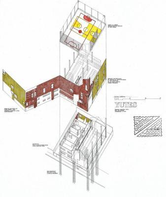 Plan : Image Courtesy Flores Prats Arquitectos