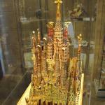 Sagradafamilia-model_background_adj - Gaudí's model of the completed church : Image Courtesy Antoni Gaudi