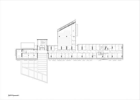 2nd floor plan : Image Courtesy Eraclis Papachristou – Architects