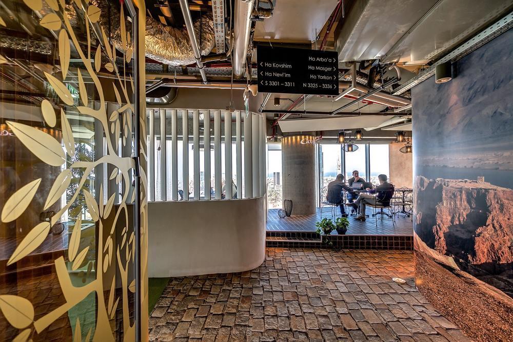 google tel aviv in israel by camenzind evolution google tel aviv cafeteria