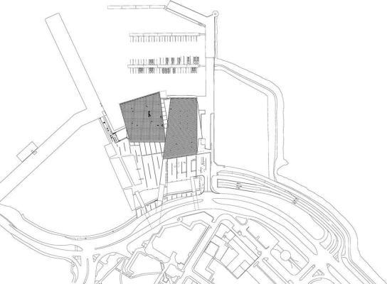 Site Plan : Image courtesy Henning Larsen Architects