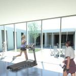 gym : Image courtesy ARKÍS Architects