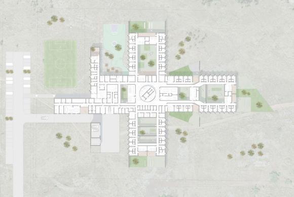 Plan : Image courtesy ARKÍS Architects