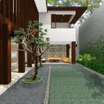 the pool : Image courtesy Herryj Architects