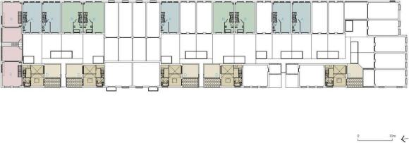 First Floor Plan : Image Courtesy © Tony Fretton Architects