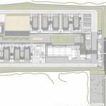 Ground Floor Plan : Image courtesy A i B arquitectes + Estudi PSP Arquitectura