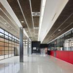 Reception and access-2 : Image courtesy A i B arquitectes + Estudi PSP Arquitectura